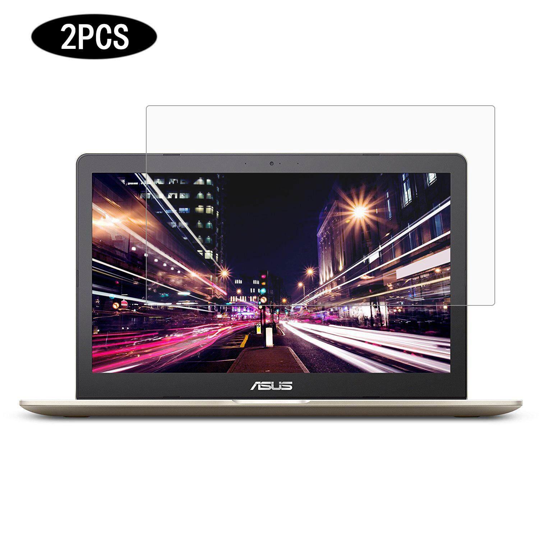 Cartinoe Laptop 15.6 Inch Universal LCD Jernih HD Guard Film Anti-Glare Matte Pelindung Layar untuk Asus VivoBook M580vd 15.6 Inci Notebook, 2 Pcs