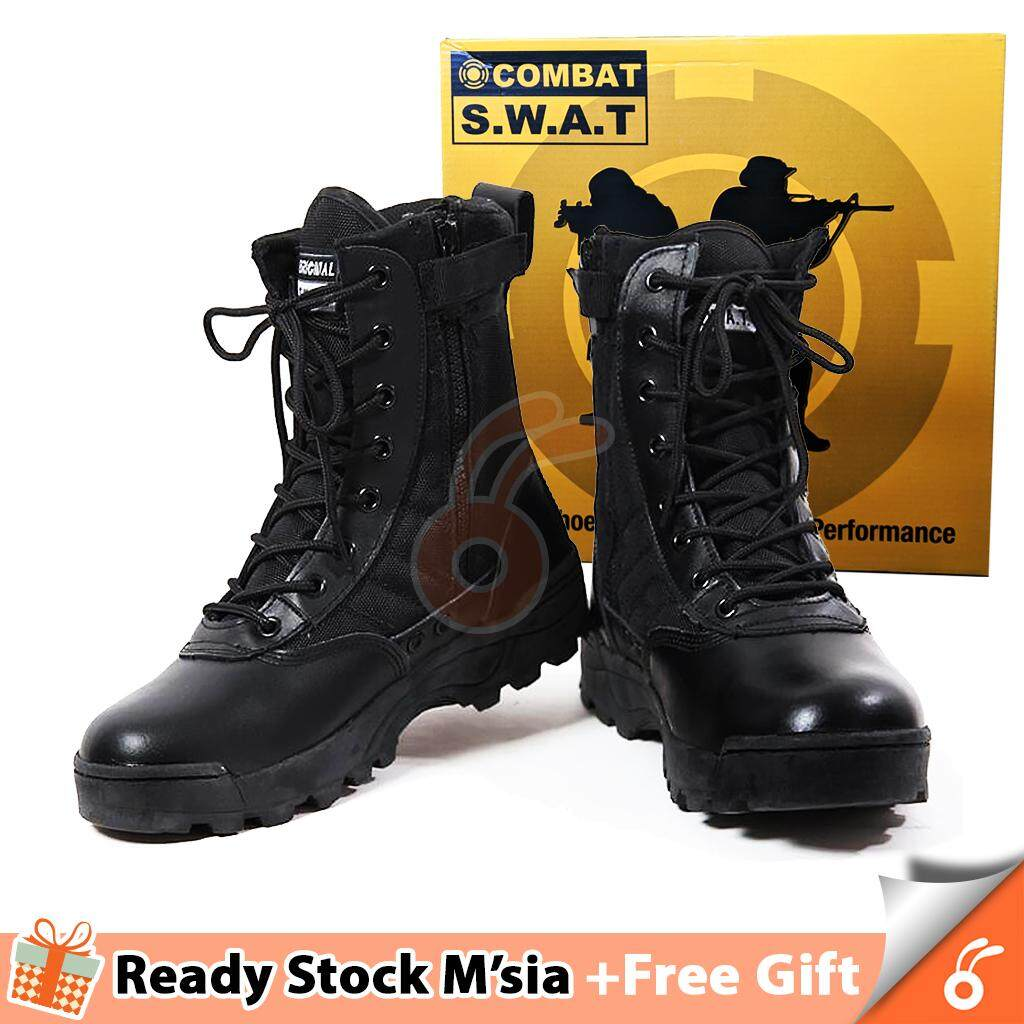 6f7149d1f64 [70-F2/G2] 1028 SPARTA Sport Army Unisex Tactical Boots Combat Swat Boots  Kasut Operasi (FREE GIFT WITH EVERY UNIT)