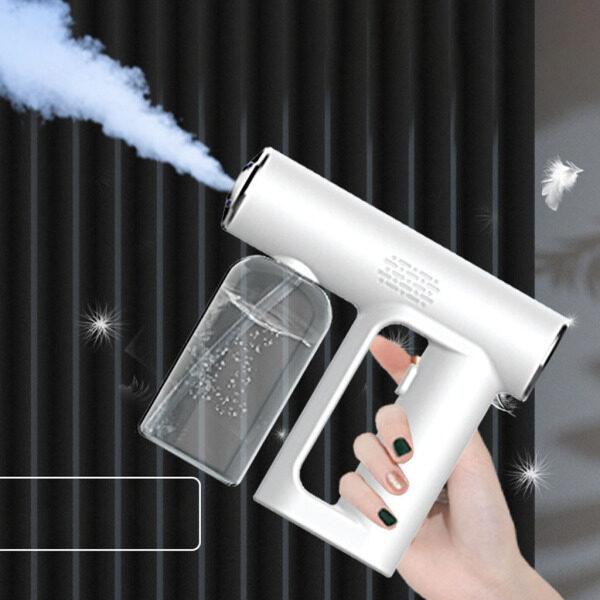 Perfk 250ml Electric Nano Mist Sprayer Fogger Machine Sanitizing Home Office Tool