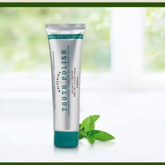 Whitening Tooth Polish with Fluoride—Cool Mint (108g)