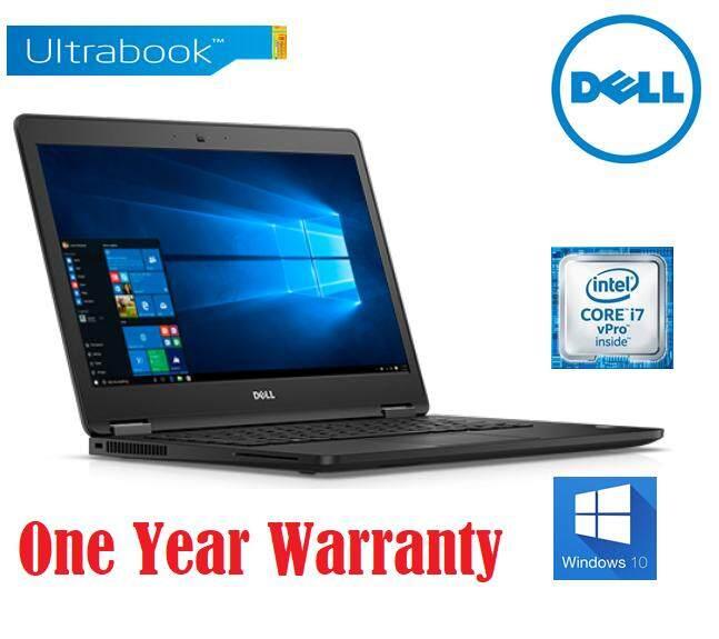 Dell Latitude E7470 Core i7-6600U 2.6GHz ( 8GB 2133MHz DDR4 (1x8GB) 256GB SSD Windows 10 Pro 64-bit Ultrabook Malaysia