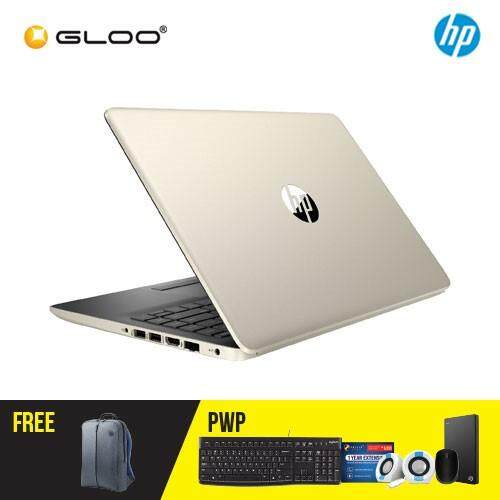NEW HP 14s-cf1026TX/ 14s-cf1027TX 14 FHD Laptop (i7-8565U, 1TB, 4GB, AMD Radeon 530 2GB, W10) - (Silver/Gold) [FREE] HP Backpack Malaysia