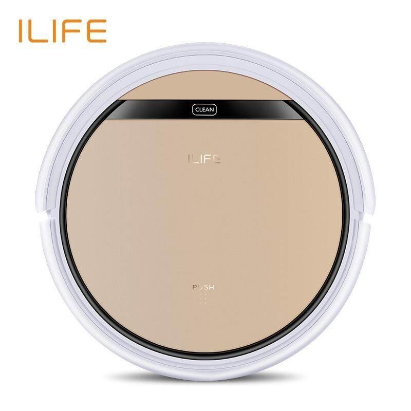 ILIFE V5S Pro Intelligent Robotic Vacuum Cleaner IR Remote Control Anti-Collision Smart Robot Sweeper for Home Singapore