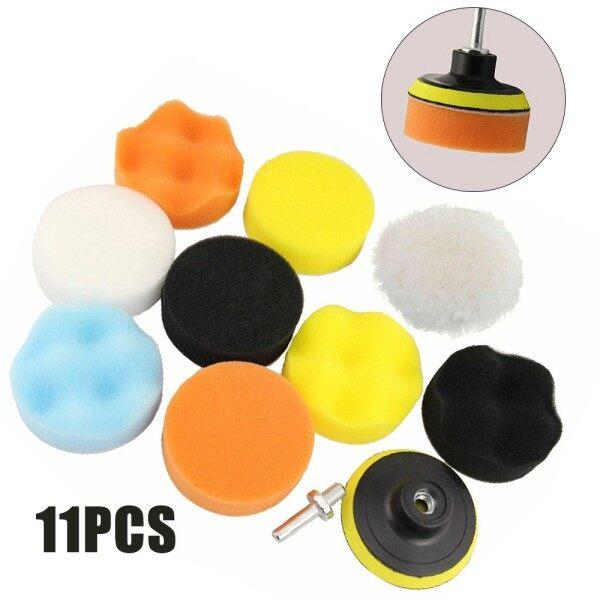 Parts Polishing Pads 11pcs Tool Polishing Buffer Drilling Foam Sponge Thread Drill Adapter