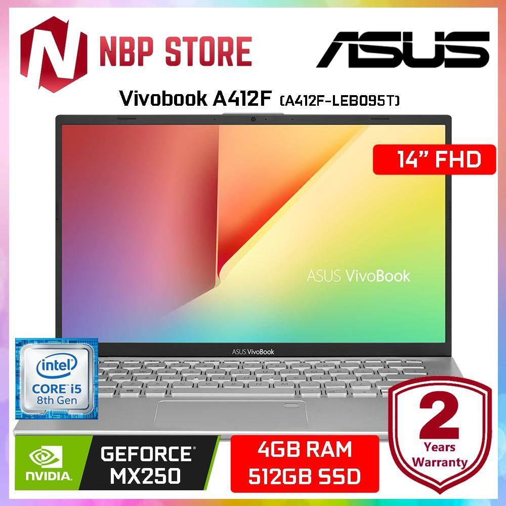 Asus Vivobook A412F-LEB095T 14 FHD Laptop Transparent Silver ( i5-8265U, 4GB, 512GB, MX250 2GB, W10 ) Malaysia
