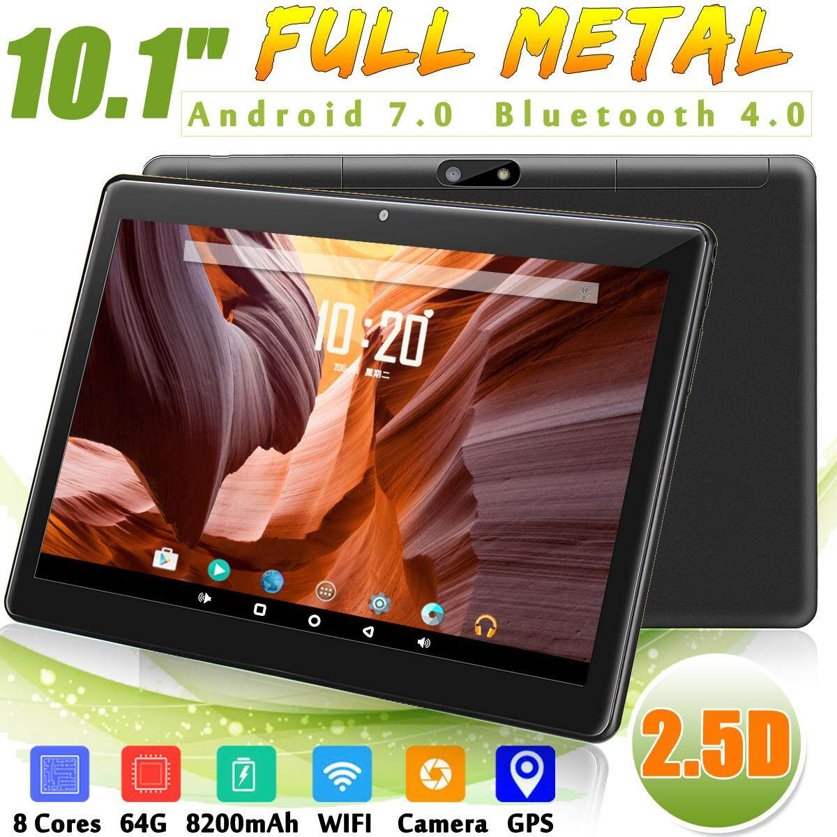 76a19181421 Hot Sale 10.1   4G+64GB Android 7.0 Tablet PC Octa 8 Core HD