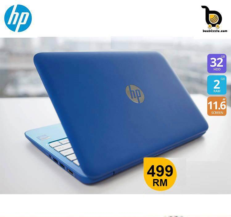 HP Stream Notebook 11-R015 Intel® Celeron® N2840 2.16 GHz, 2GB Memory, 32GB SSD, 11.6 inch; HD LED, Intel® HD Graphics Malaysia