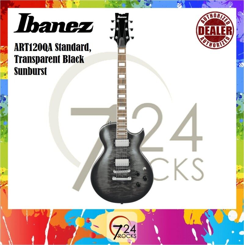 Ibanez ART120QA ART-Series Les Paul size Electric Guitar Malaysia