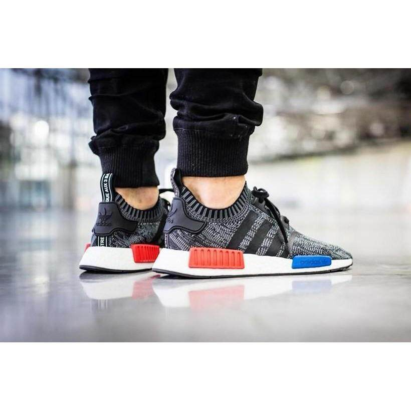 174387214 Grey And Black Adidas Nmd Shoes Men price in Singapore