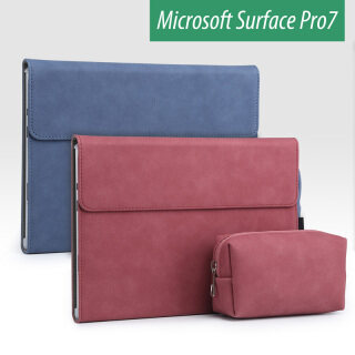 Ốp Lật Có Chân Đế Cho Surface Pro 7 2019 Vỏ Máy Tính Xách Tay Microsft Surface Pro 6 Mới 12.3 Vỏ Bảo Vệ Máy Tính Bảng Funda Dành Cho Surface Pro 4 Pro 5 Hoa Văn Mờ thumbnail