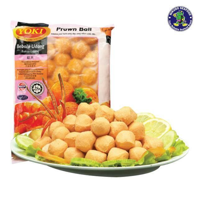 (KL & Selangor Delivery Only) YOKI Prawn Ball (±25pcs/pkt) 400g