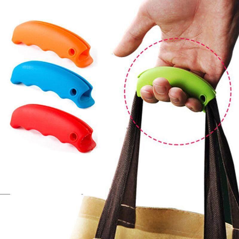 4 Pcs Silikon Menyebutkan Hidangan Untuk Tas Belanja Untuk Pelindung Tangan Perjalanan Tas Belanja Klip Penahan Pegangan Pembawa Kunci Alat Rumah By Super Shoes Store.