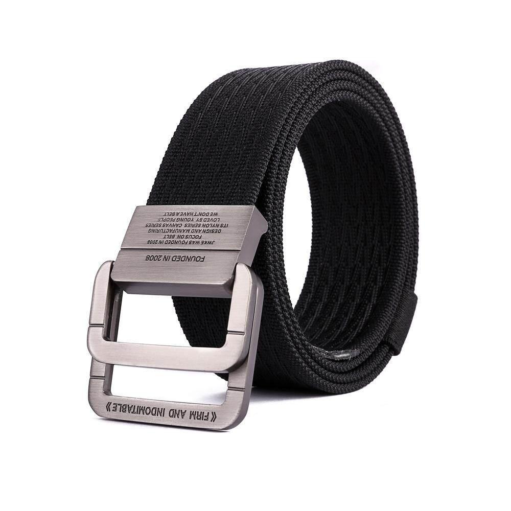 Cestlafit 125CM ไนลอนแหวนคู่เข็มขัดเข็มขัดกีฬากลางแจ้งกีฬายุทธวิธี Durable กางเกง