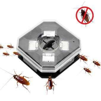 จับแมลงกับดักแมลงสาบกล่องไม่มีพิษเครื่องจับแมลงสาบปราศจากมลพิษ Reusable กับดักแมลงสาบ