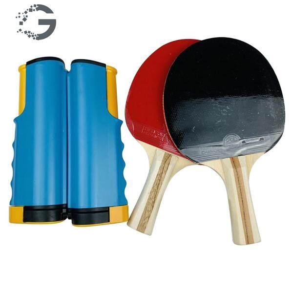 Bảng giá Bộ Dụng Cụ Tập Bóng Bàn, Lưới Đan Có Thể Thu Gọn, Kèm Vợt Ping Pong, Dùng Trong Thể Thao, Trong Nhà