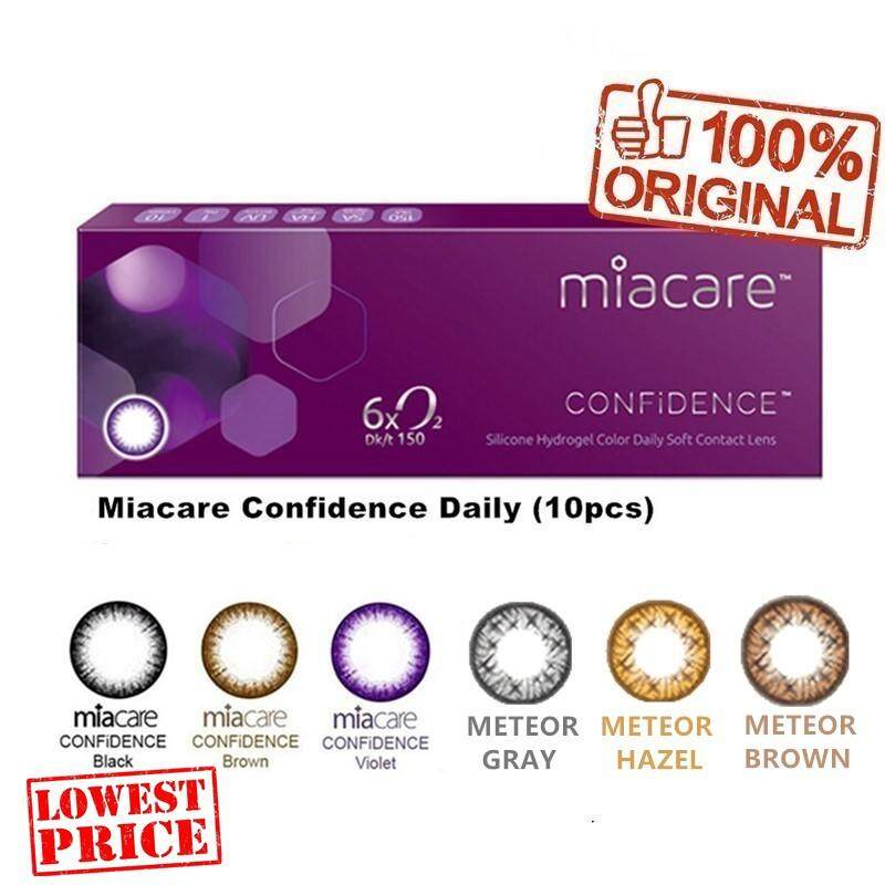 Miacare Daily Confidence 1 Day Cosmetic Color Contact Lenses (10Pcs)