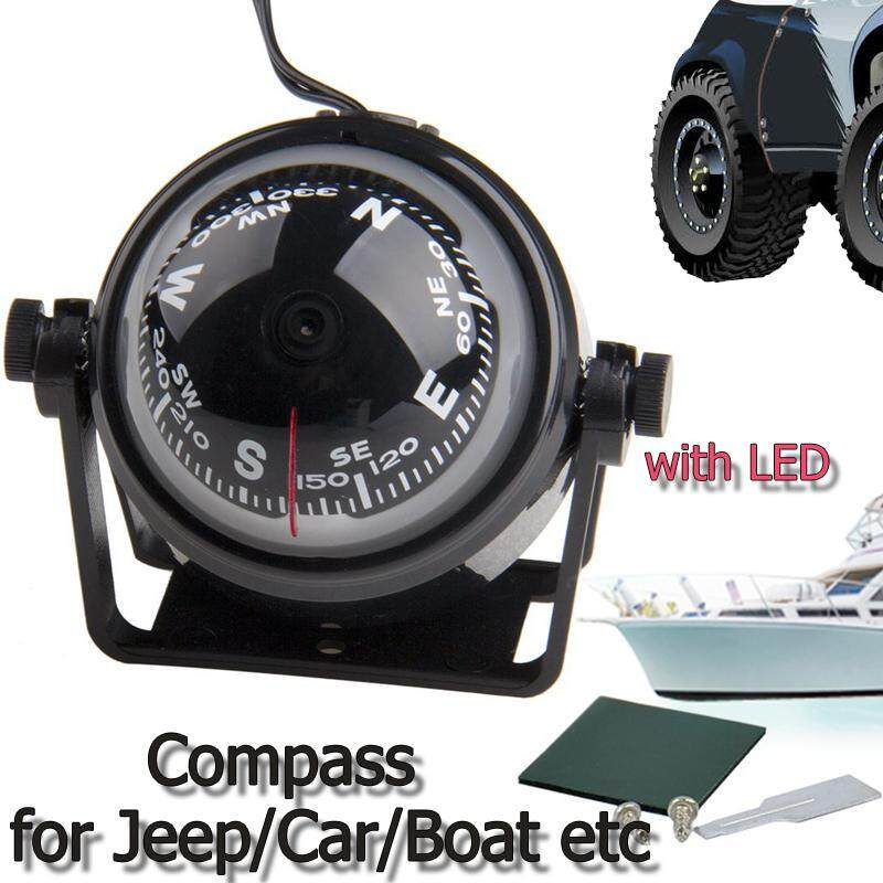 Boat Parts & Accessories Supply Marine Compass Led Light For Sail Ship Vehicle Car Boat Navigation White
