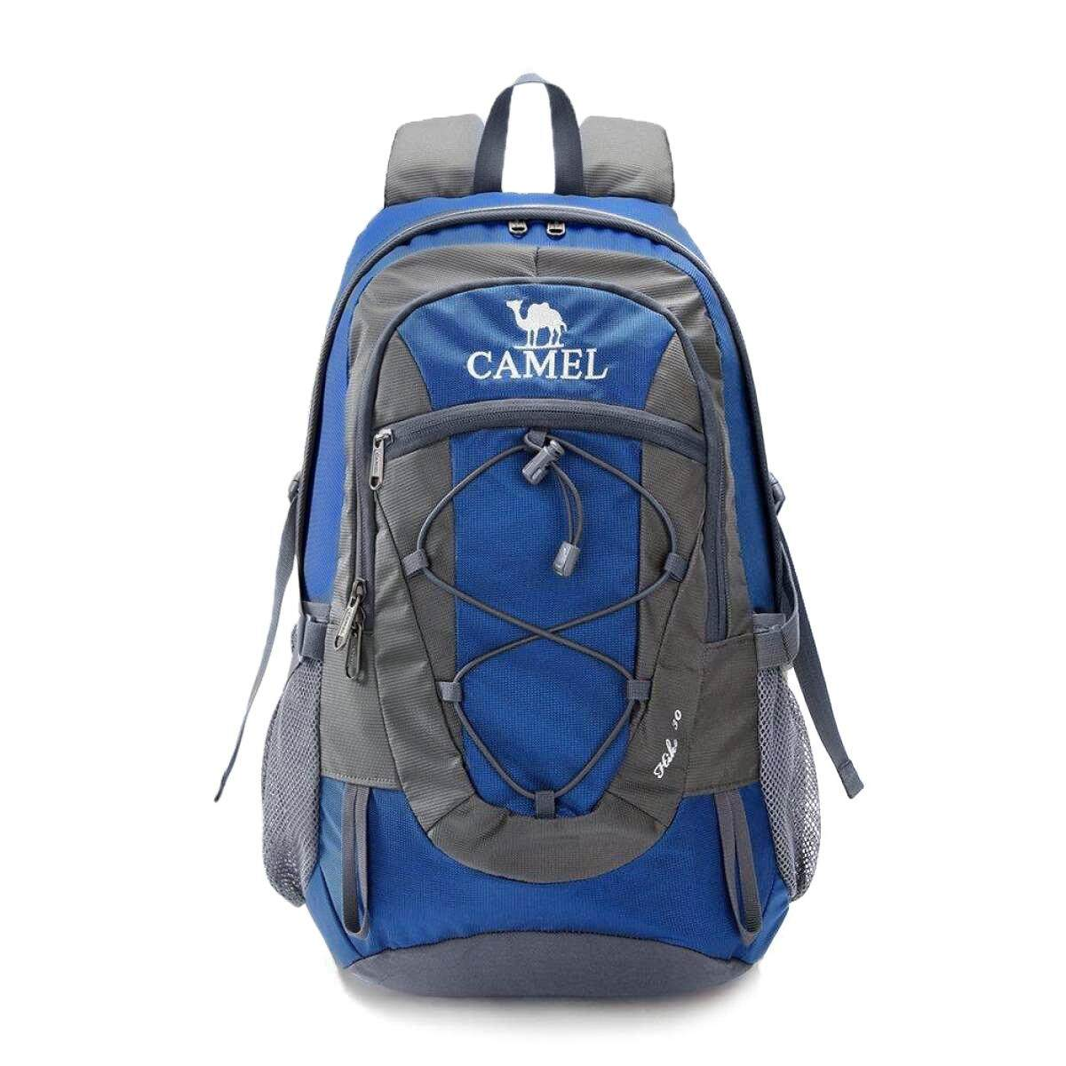 Camel 30l Lightweight Travel Backpack Outdoor Mountaineering Hiking Daypack With Durable & Waterproof By Camel International.