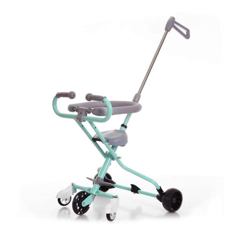 Umiwe Folding portable five-wheeled cart, Childrens Trolley Ultra-light Aluminum Kids Bike Stroller(With brake) Singapore