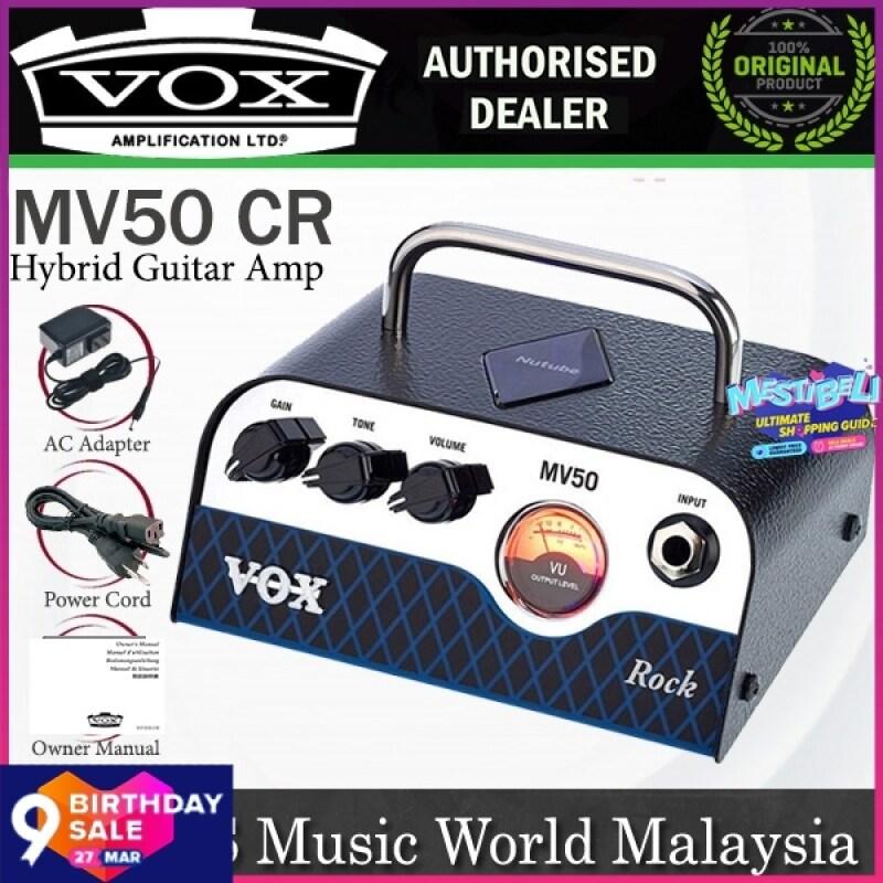 Vox MV50 CR 50 Watt 1 Channel Rock Hybrid Guitar Amp Amplier Tube Head (MV50CR MV50-CR) Malaysia