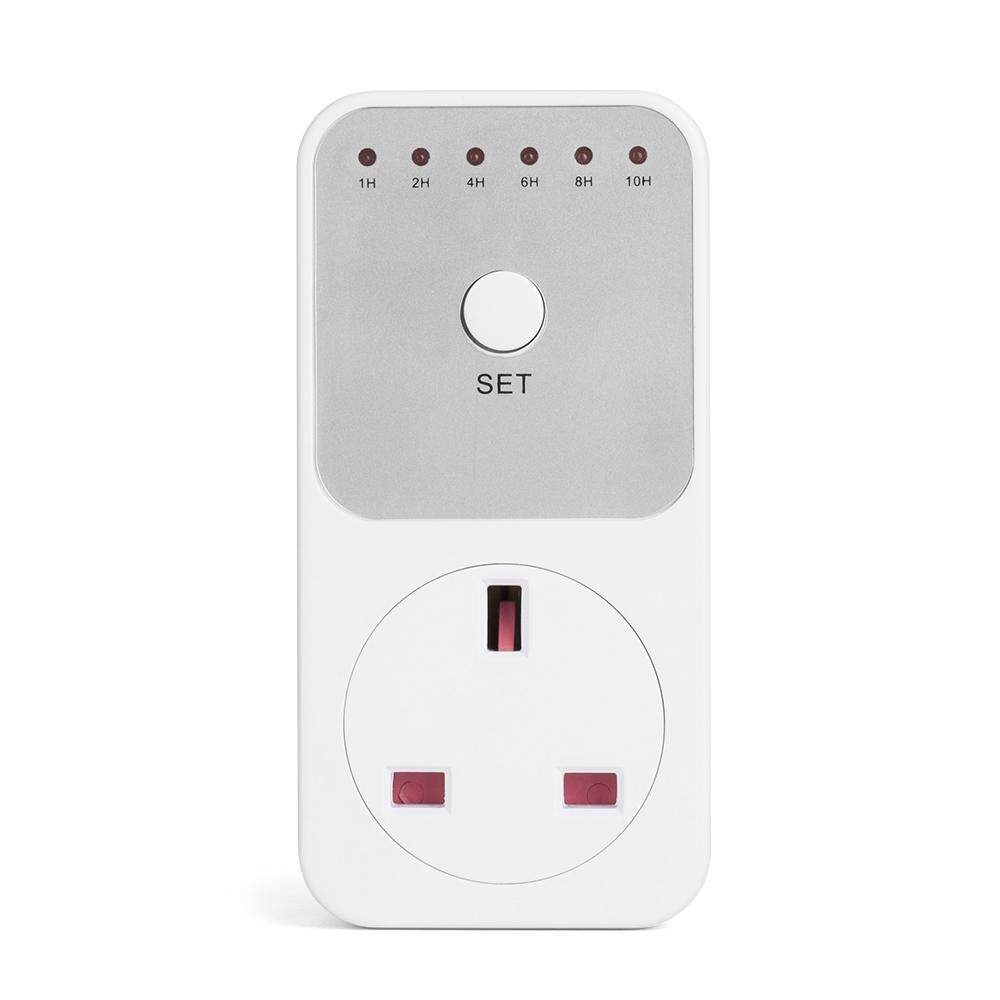 1~10 Hours Countdown Timer Plug-in Socket Intelligent Time Setting Control Switch Energy Saving Outlet AC240V