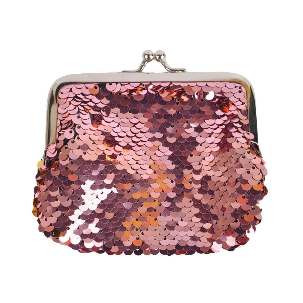f4cff30aedf9 Kid Girl Mermaid Sequin Coin Purse Mini Wallet Small Bag