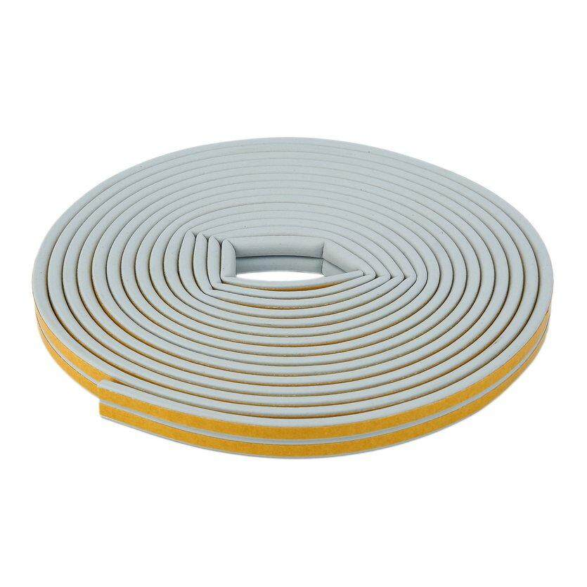 OH 12m Foam Draught Excluder D Type Seal Strip Insulation for Door Window New