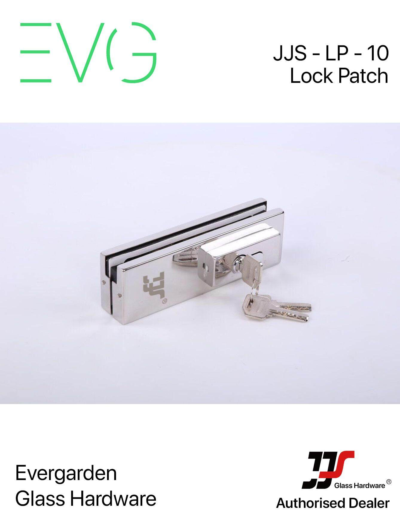 Patch Fitting [Lock Patch] (JJS - LP - 10)