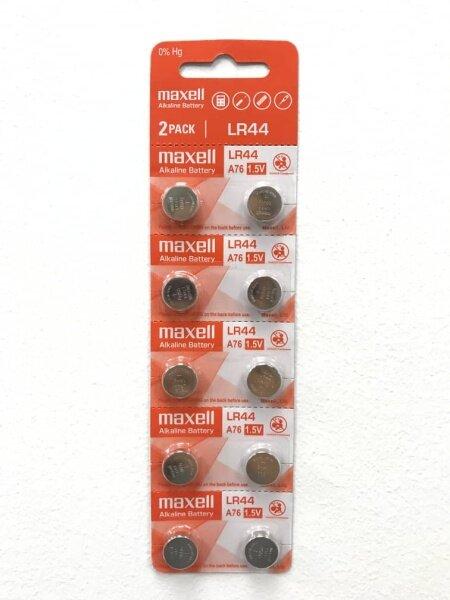 Maxell Battery LR44 @ 2pcs Malaysia