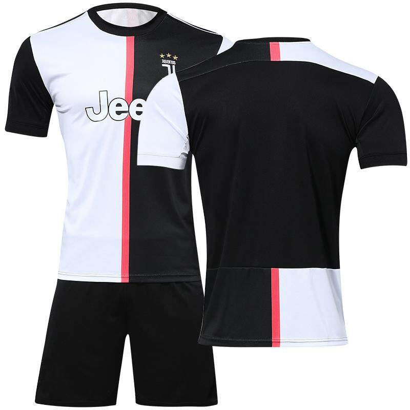 buy online 5e832 30e1e 2019-2020 Juventus_home Ronaldo soccer jersey shorts suit football jerseys  set