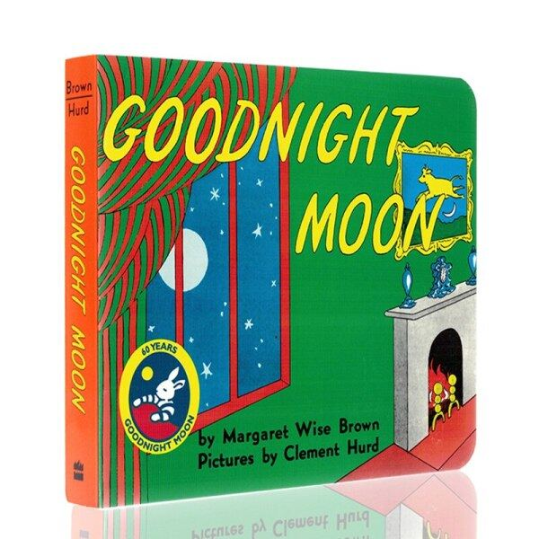 Baby Goodnight Moon Board Book Bedtime story book Age 0-6 Baby Story Book English Learning Toys for Children Story Reading Book Malaysia
