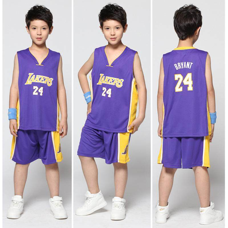 c2bb2f9e826 Kids Basketball Jersey Sets Youth Basketball Training Jersey Kits Boys & Girls  Basketball Sportswear