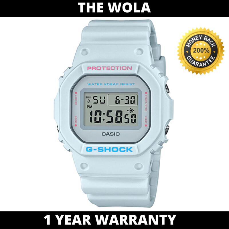 (100% Original G SHOCK) GSHOCK Women Sport Digital Watch DW-5600SC-8DR (watch for women / jam tangan wanita / Casio watch / women watch) Malaysia