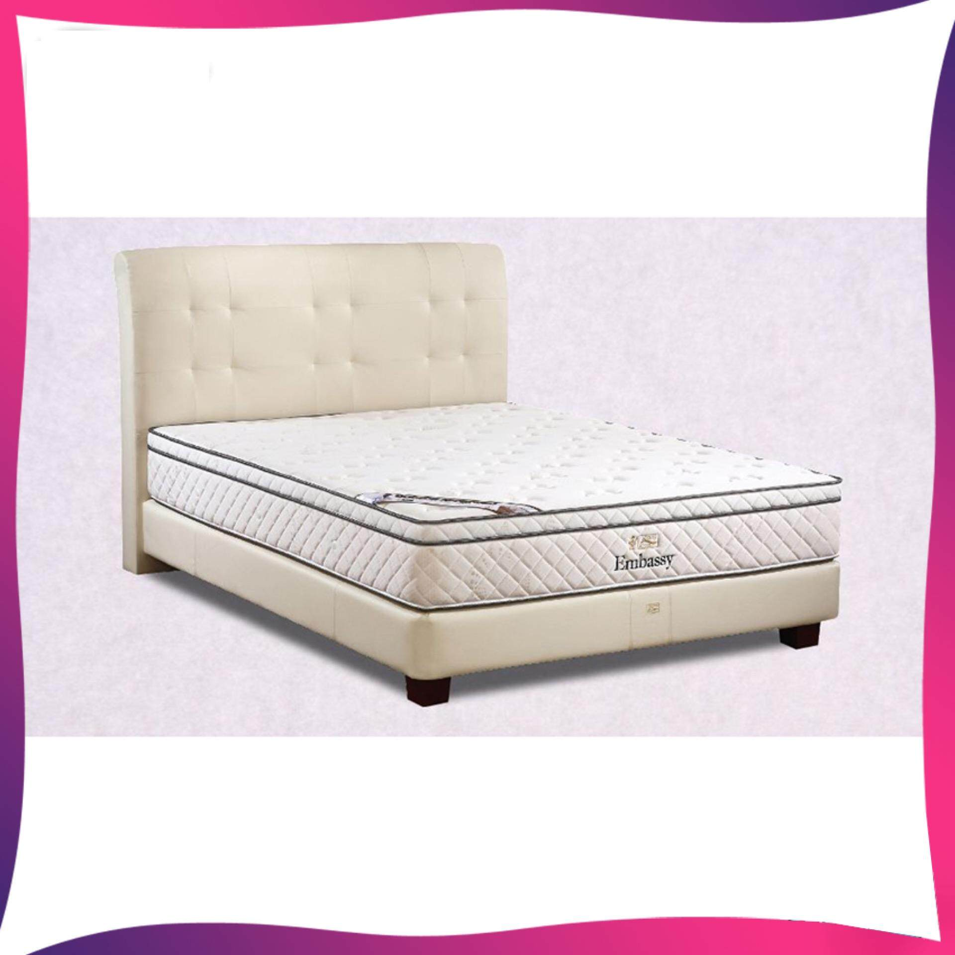 1ed8b4cfcec1a King Koil Embassy 11 inch Chiropractic Spring Mattress (10 Years Warranty)