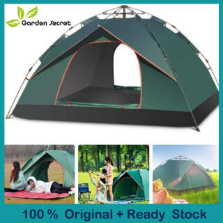 2-3 Người Lớp Lớn Đôi Tự Động Bật Lên Lều Cắm Trại Nơi Trú Ẩn Ngoài Trời thumbnail