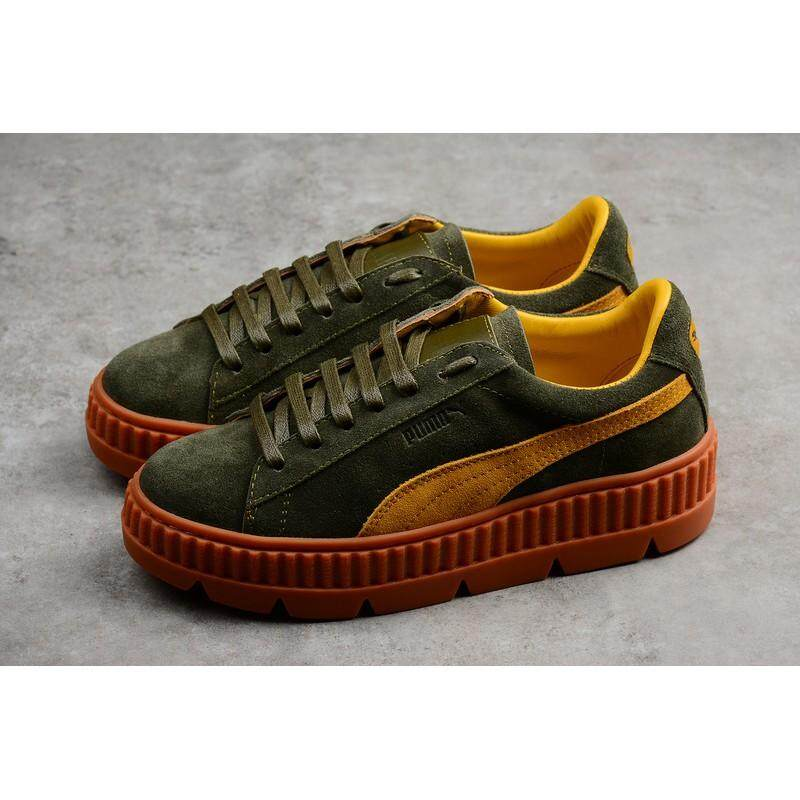 0c2014d7dd5 Puma Fenty Suede Cleated Creeper Women Sport Shoes Fashion Casual sneakers