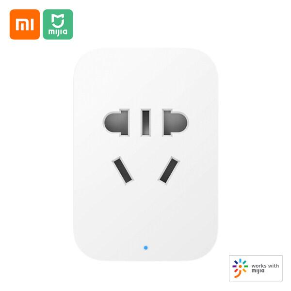 Ổ cắm thông minh phiên bản zncz07cm chuyển đổi hẹn giờ điều khiển từ xa không dây qua ứng dụng mijia liên kết nhà thông minh phát hiện điện hỗ trợ ios andriod BT Gateway Xiaomi Mijia - INTL