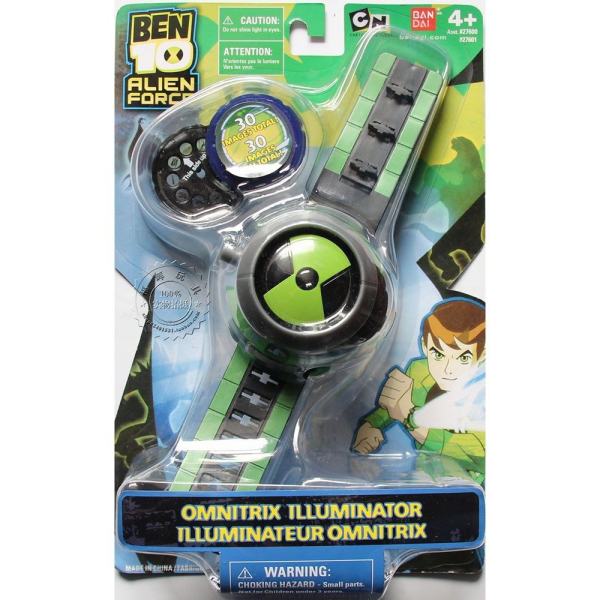 BEN 10 ALIEN FORCE OMNITRIX ILLUMINATOR KID TOY WATCH FOR BOYS Malaysia