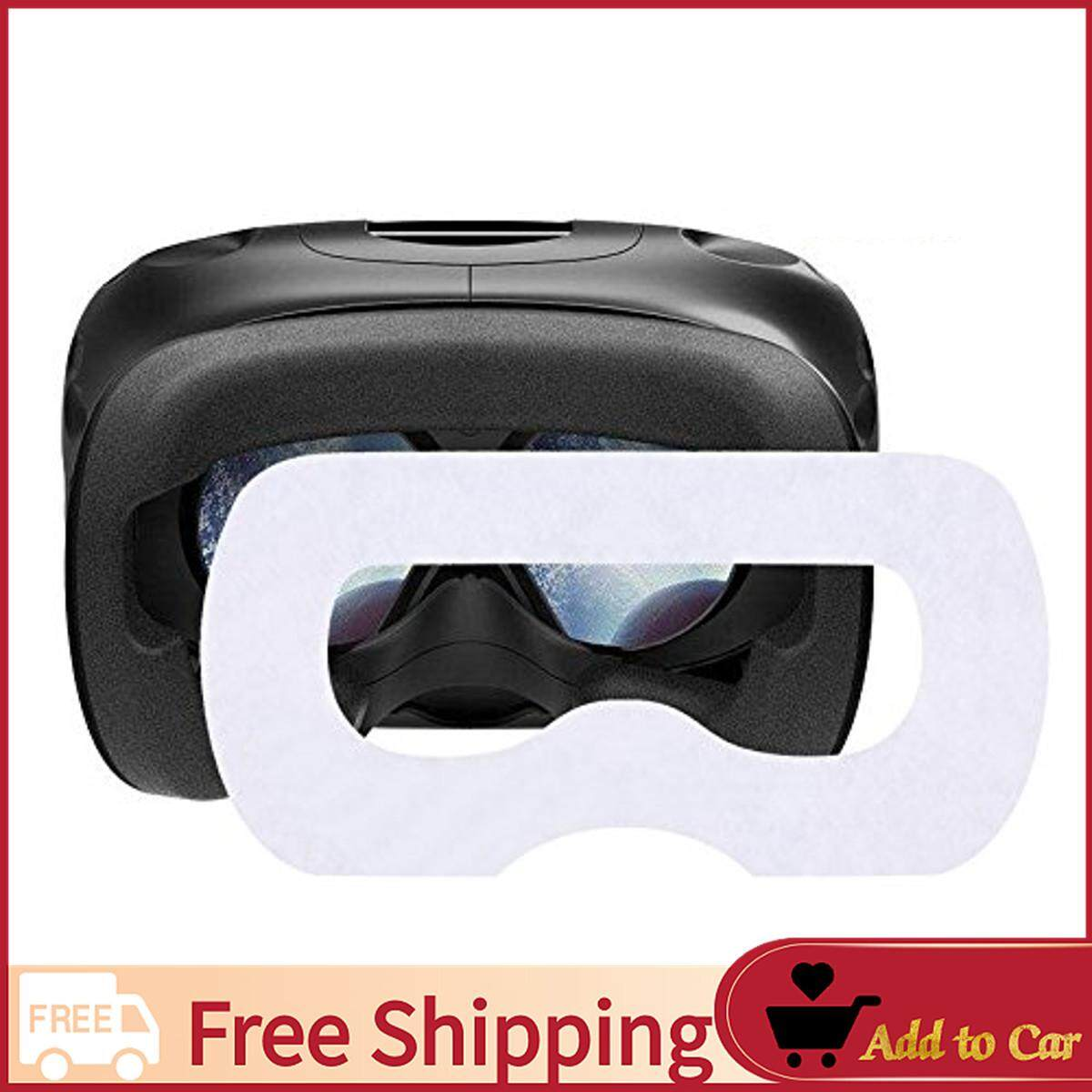 【Free Shipping】100Pcs Disposable Sanitary Facial Eye Mask Mats For HTC Vive VR Headset + Foam
