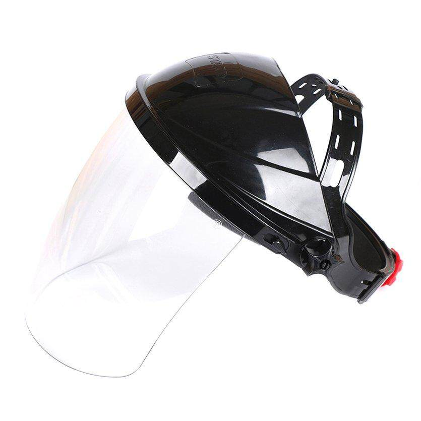 TOP (New Arrival) Portable Transparent Lens Anti-UV Anti-shock Welding Helmet Face Shield Solder Mask Face Eye Protect Shield Anti-shock