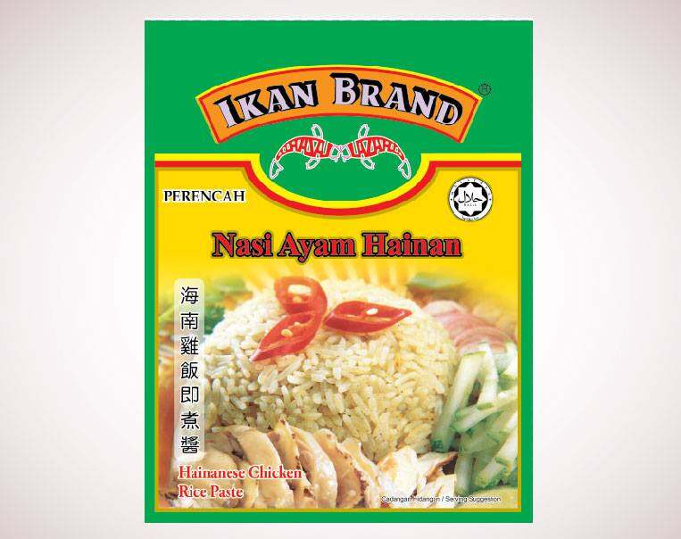 Ikan Brand Hainanese Chicken Rice Paste