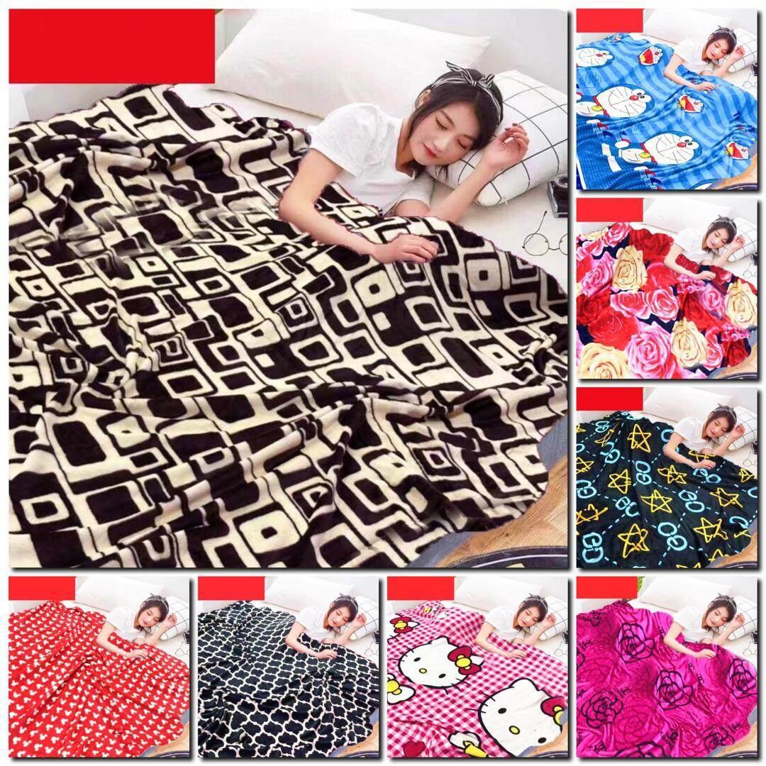 Selimut Tebal 180*200cm Blanket Queen Size 180*200cm (800g) By Ready-Stock-Shop.