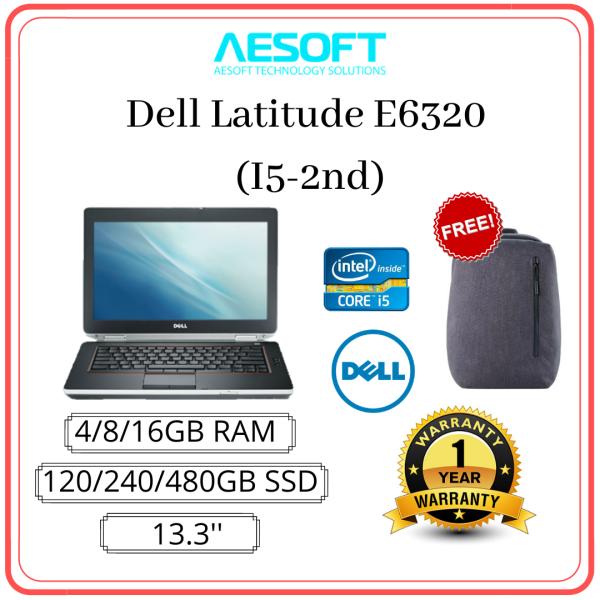 DELL  E6320 - 13 / Core I5-2ND Laptop (Refurbished) Malaysia