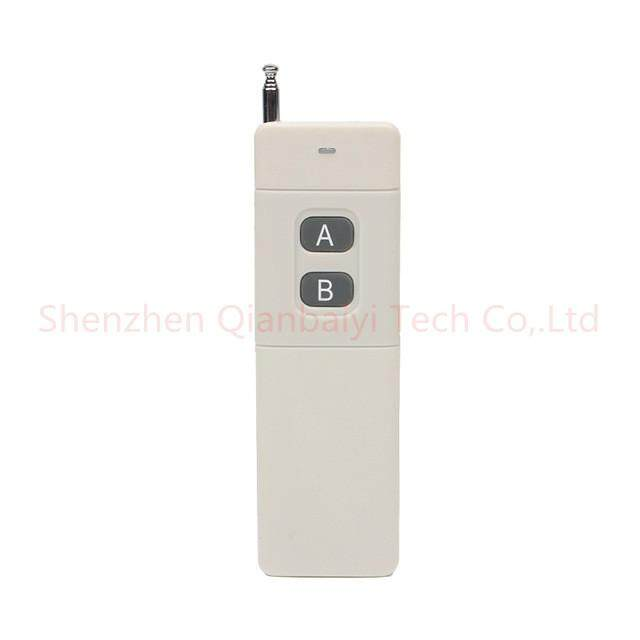 3000m Long Range High Power 2 CH RF Remote Control Transmitter 433 MHz
