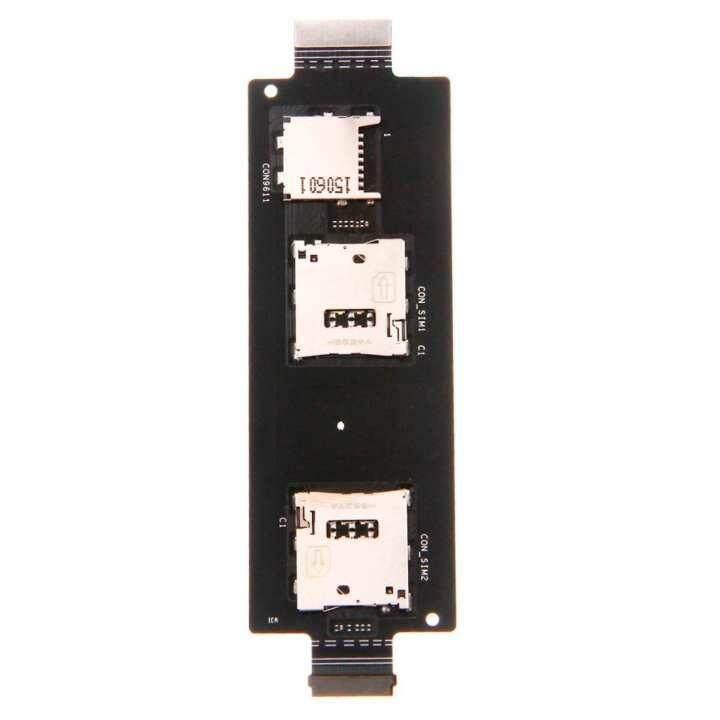 Untuk ASUS ZenFone 2 5.5 Inch ZE551ML ZE550ML SIM Pembaca Kartu Holder Konektor Celah Fleksibel Komponen Pengganti Kabel