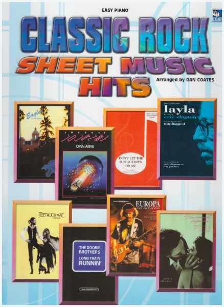 Classic Rock Sheet Music Hits / Easy Piano Malaysia