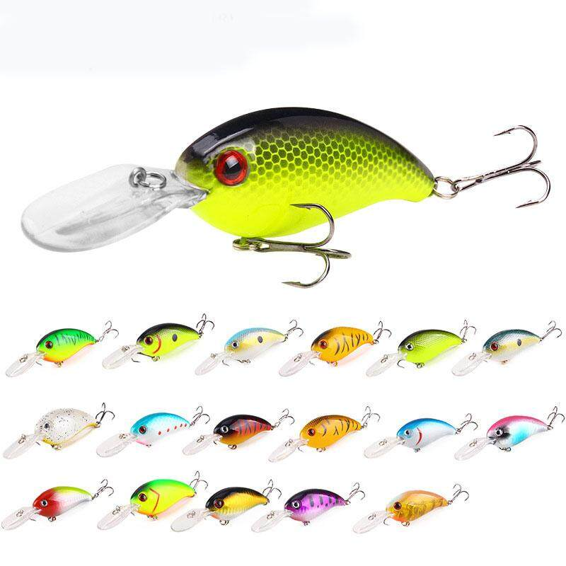 17pcs/set 100mm /13.6g Mirror Coating Reflective Temptation Artificial Wobblers Floating Plastic Hard Bait Dive Depth 0.5-1.5m 3D Simulation Eyes Fishing Lure Crankbait Pesca Jigging