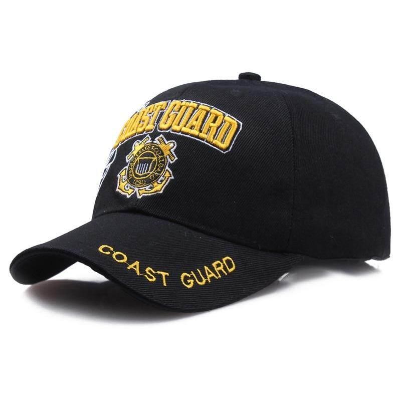 Giá bán Mỹ Bảo Vệ Bờ Biển Quân Đội Mũ Bóng Chày Xương Hải Quân Hoa Kỳ Nón Nam Nữ Balck Chiến Thuật Nắp Casquette
