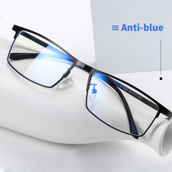 Giá bán Kính Chặn Ánh Sáng Xanh Chống Mỏi Mắt Bộ Lọc UV Máy Tính Kính Mắt Chơi Game Khung Nhẹ Kính Chống Bức Xạ Phụ Nữ Đàn Ông