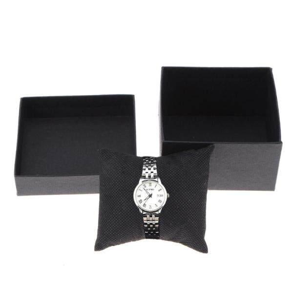 1pc Fashion Watch Box Leather Jewelry Holder  Wrist Watches Holder Display Storage Box Organizer Case Gift Malaysia